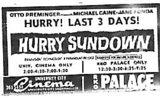 """""""Hurry Sundown"""""""
