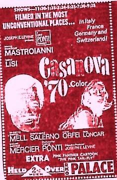 """""""Casanova '70"""""""