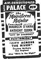"""The Magnificent Matador""/""City of Shadows"""
