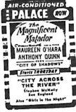"""""""The Magnificent Matador""""/""""City of Shadows"""""""