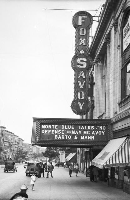 Fox Savoy Theatre, New York, NY - 1929