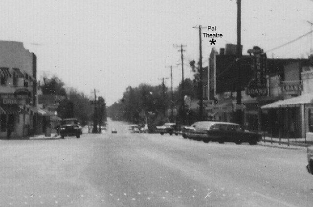 Pal Theatre Hinesville, GA 1960s