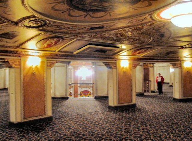 Allen Theatre, Cleveland, OH - Inner Lobby & Rotunda