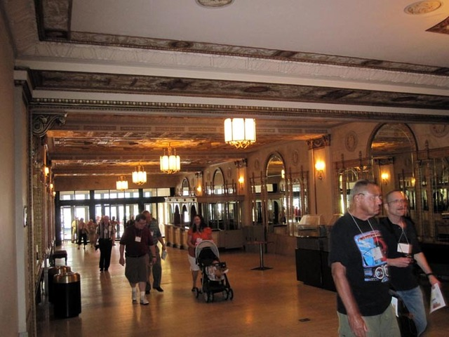 Allen Theatre, Cleveland, OH - Main Lobby looking toward entrance