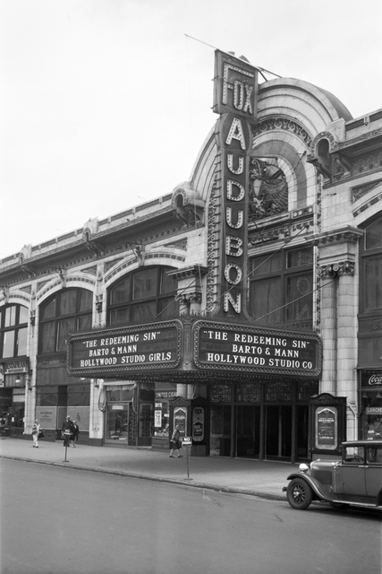 Fox Audubon Theatre, New York, NY - 1929