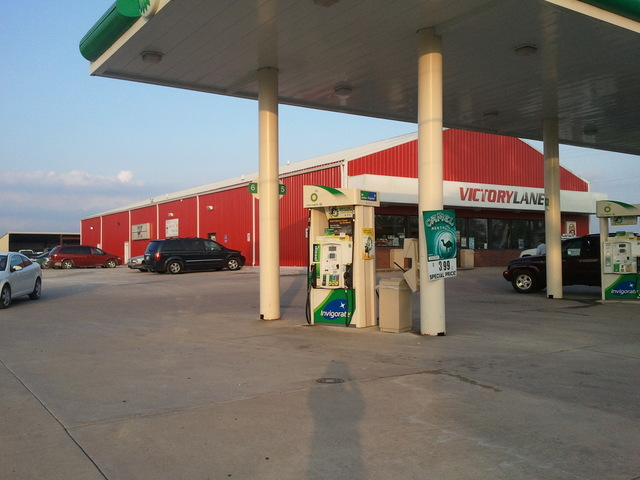 Troy Movie House/Victory Lane/BP gas station
