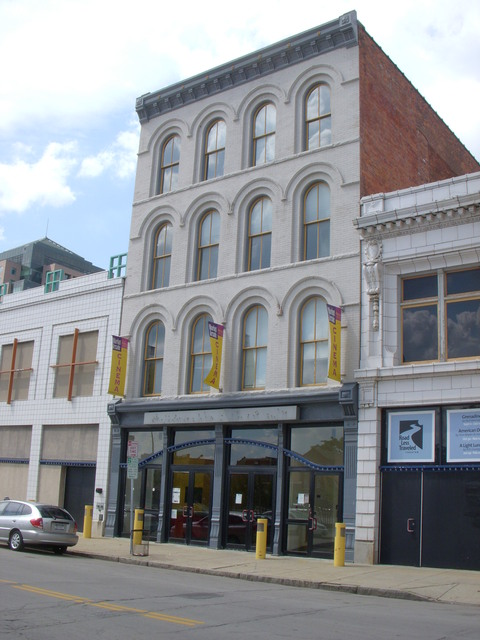rear, Market Arcade Film & Arts Centre, Buffalo, NY