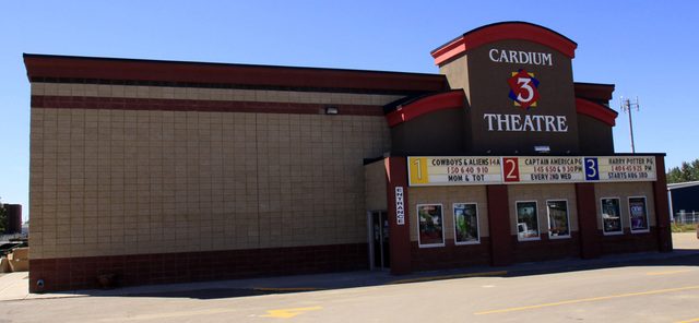 Cardium 3 Theatre, Drayton Valley, Alberta - 2011
