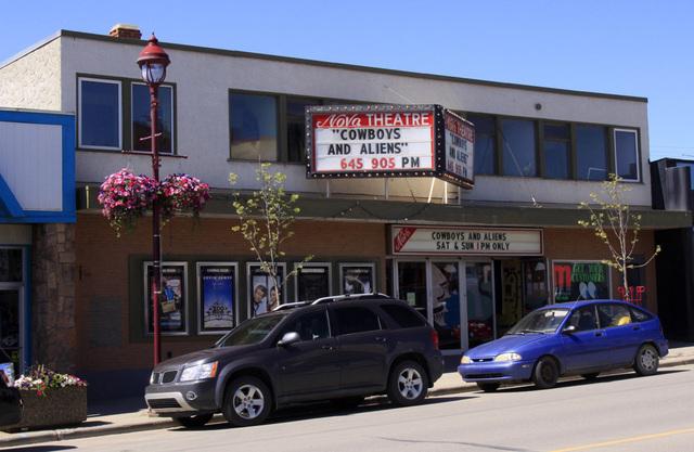 Nova Theatre, Edson, Alberta - 2011