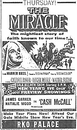 """The Miracle""/""Cash McCall"""