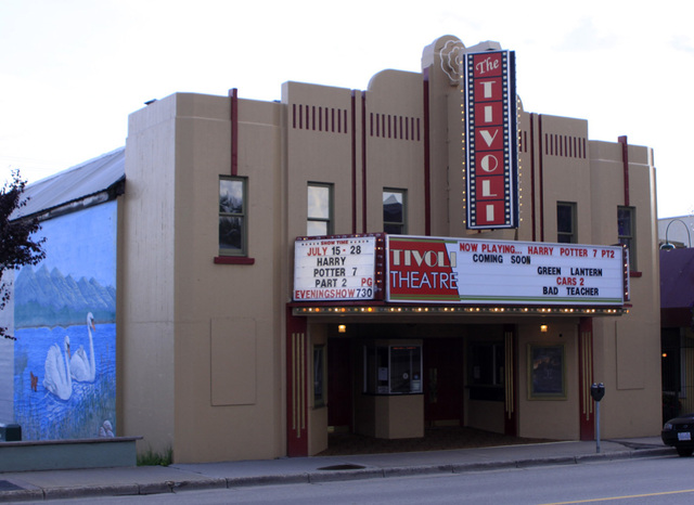 Trivoli Theatre, Creston, BC - 2011