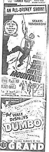 """""""Third Man on the Mountain""""/""""Dumbo"""""""