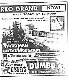 """Third Man on the Mountain""/""Dumbo"""