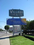 Village Theater Street Marquee