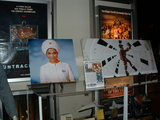 Exhibits on display in the main Arclight lobby in honor of the 40th anniversary screening of &quot;2001&quot; in the Dome, January 30, 2008.