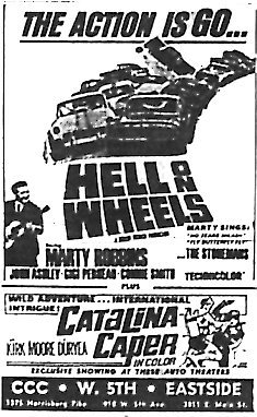 """Hell on Wheels""/""Catalina Caper"""