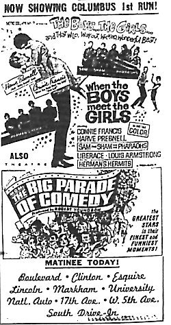 """When the Boys Meet the Girls""/""The Big Parade of Comedy"""