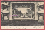 1907 post card view of the interior of the Ridgway Opera House / STRAND Theatre, at 209 Main Street, in Ridgway, PA
