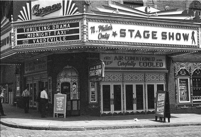 Carman Theatre - Philadelphia, PA - 1937