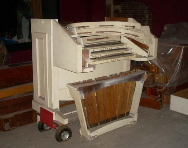 1922 Moller Organ Console 2012