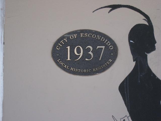 Ritz Theater 2012 - Lankmark Plaque