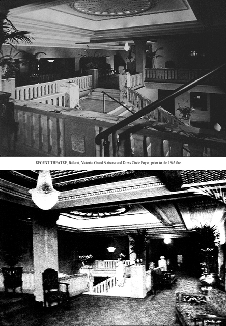Original Regent Ballarat foyers.