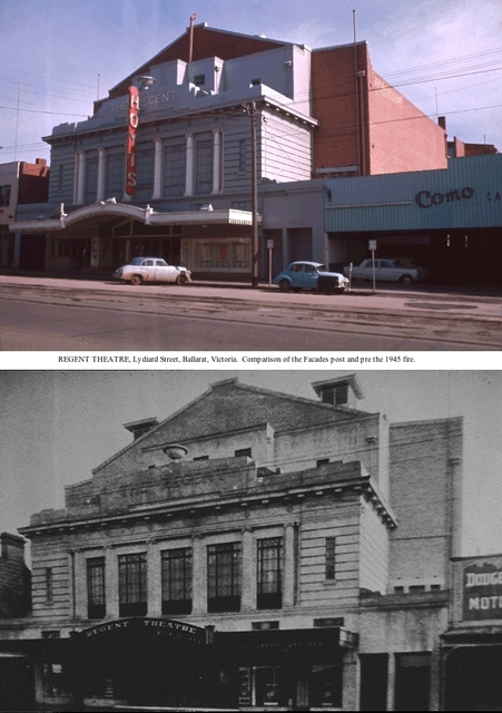 The Ballarat Regent Theatre.