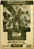 Ken Norton in DRUM at the Warner Theatre in Pittsburgh, Pa