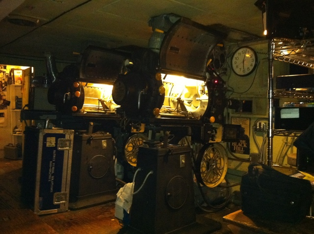 Roxie Projection Booth July 2011