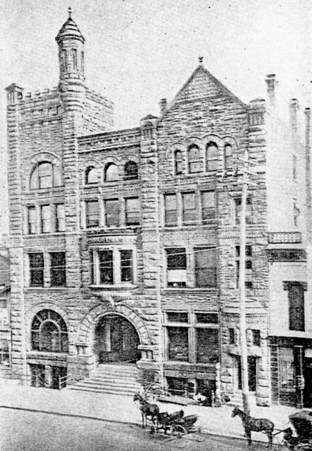 New 1887 Dayton Ohio YMCA