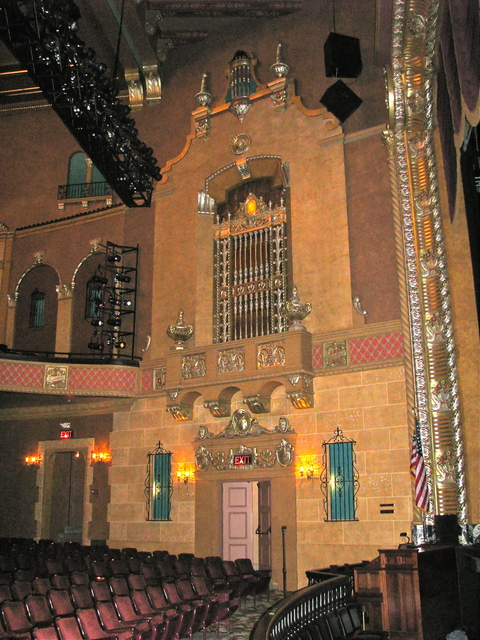 Wall and Organ Chamber
