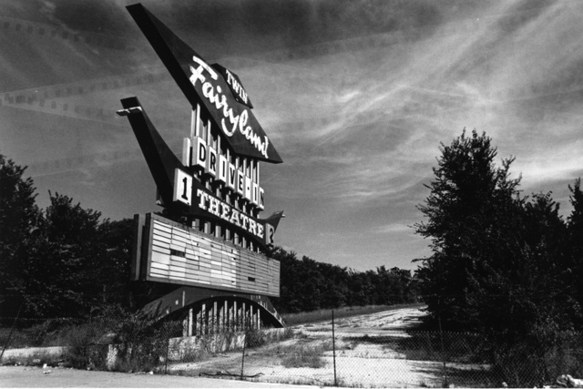 Fairyland Twin Drive-In Marquee