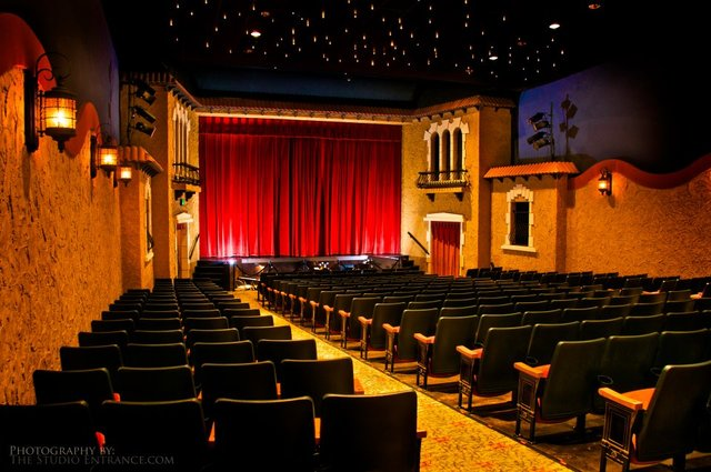New Picture of Garden Theatre Interior