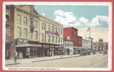 a 1919 post card view of 'Cohen's Opera House', and Broadway,