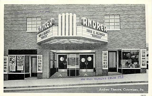 Andrea Theatre, Catawsissa, Pa.