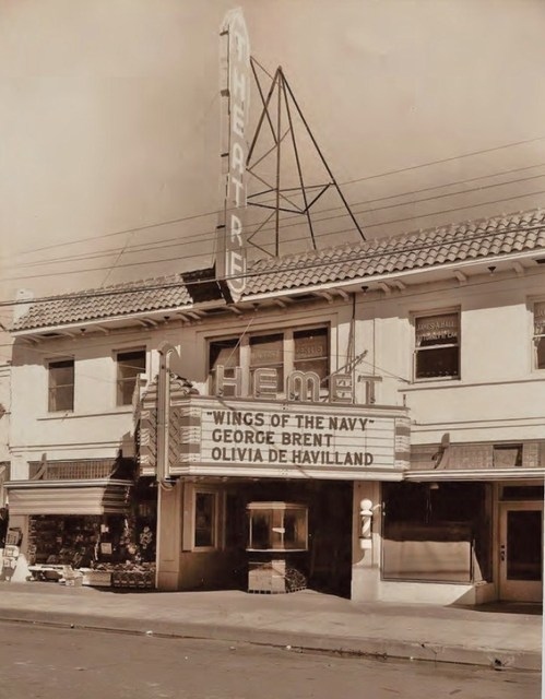 Hemet Theater - 1937