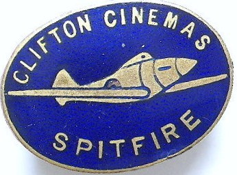 Clifton Spitfire Badge