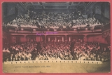 1910 post card view titled, 'Interior Faurot Opera House Lima Ohio""