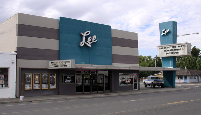 Lee Theater, Ephrata, WA - 2011