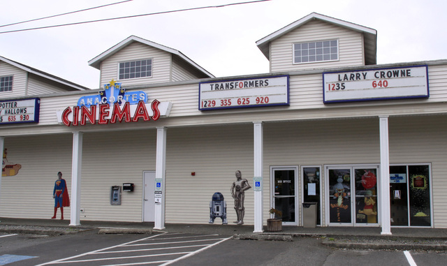 Anacortes Cinemas, Anacortes, WA - 2011