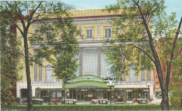 Ohio Theatre Post Card