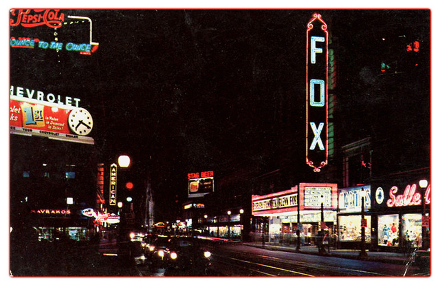 American & Fox Theaters...St Louis Missouri