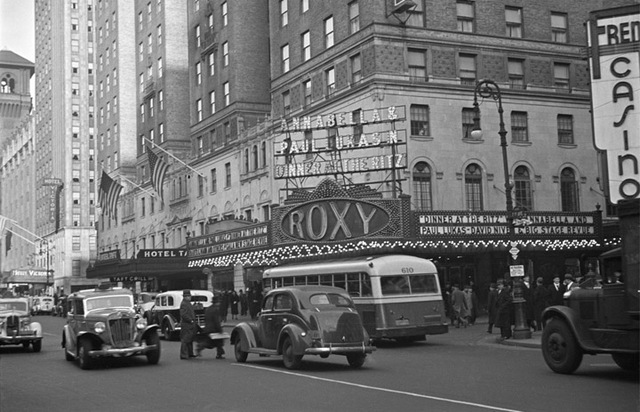 Roxy Theater, NY - 1937