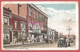 1917 post card view of the Orpheum Theatre