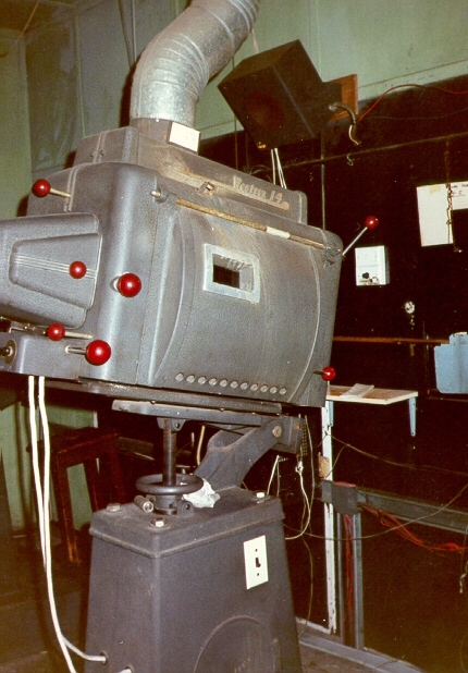 Liberty Cinema Projection Room