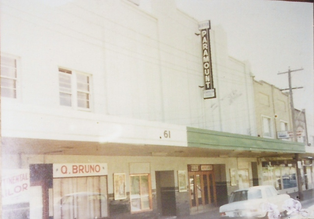 Paramount Theatre Oakleigh ca 1960s