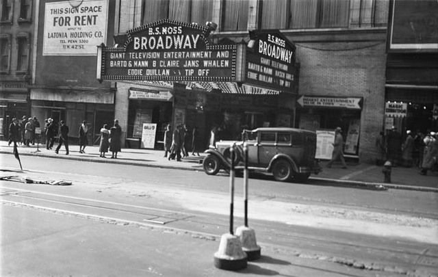 B.S. Moss Broadway Theatre, NY - 1931