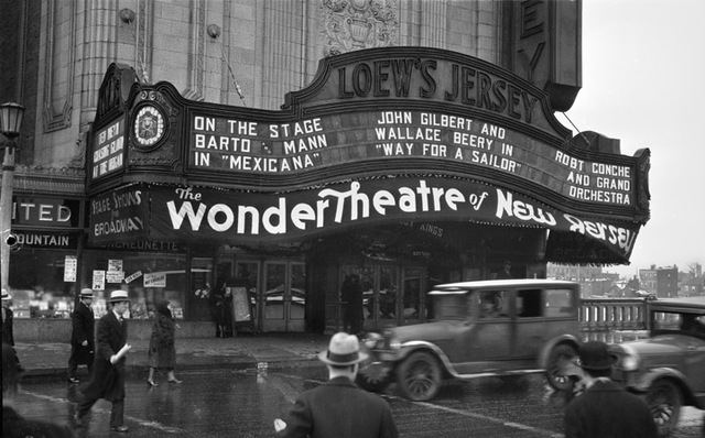 Loew's Jersey Theatre, Jersey City, New Jersey – December, 1930.