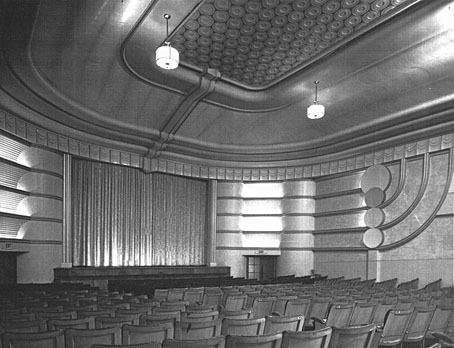 National Theatre Richmond interior ca 1940s