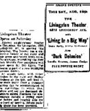 """Livingston Theater... Grand Opening..."""